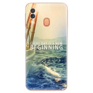 Silikonové odolné pouzdro iSaprio - Beginning na mobil Samsung Galaxy A40