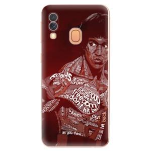 Silikonové odolné pouzdro iSaprio - Bruce Lee na mobil Samsung Galaxy A40