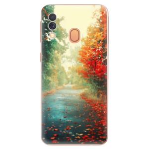 Silikonové odolné pouzdro iSaprio - Autumn 03 na mobil Samsung Galaxy A40