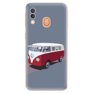 Silikonové odolné pouzdro iSaprio - VW Bus na mobil Samsung Galaxy A40