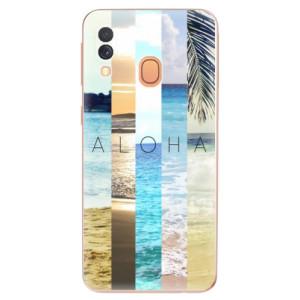 Silikonové odolné pouzdro iSaprio - Aloha 02 na mobil Samsung Galaxy A40
