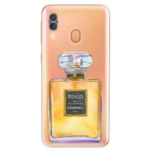 Silikonové odolné pouzdro iSaprio - Chanel Gold na mobil Samsung Galaxy A40