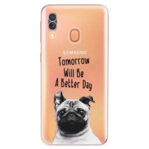 Silikonové odolné pouzdro iSaprio - Better Day 01 na mobil Samsung Galaxy A40