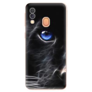 Silikonové odolné pouzdro iSaprio - Black Puma na mobil Samsung Galaxy A40