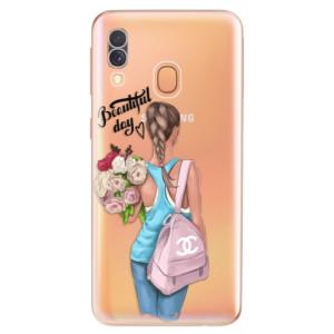 Silikonové odolné pouzdro iSaprio - Beautiful Day na mobil Samsung Galaxy A40