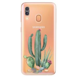Silikonové odolné pouzdro iSaprio - Cacti 02 na mobil Samsung Galaxy A40