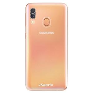 Silikonové odolné pouzdro iSaprio - 4Pure - čiré bez potisku na mobil Samsung Galaxy A40