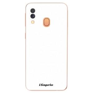 Silikonové odolné pouzdro iSaprio - 4Pure - bílé na mobil Samsung Galaxy A40