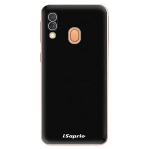 Silikonové odolné pouzdro iSaprio - 4Pure - černé na mobil Samsung Galaxy A40