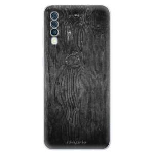 Silikonové odolné pouzdro iSaprio - Black Wood 13 na mobil Samsung Galaxy A50