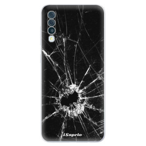 Silikonové odolné pouzdro iSaprio - Broken Glass 10 na mobil Samsung Galaxy A50