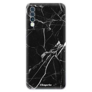 Silikonové odolné pouzdro iSaprio - Black Marble 18 na mobil Samsung Galaxy A50