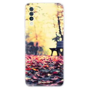 Silikonové odolné pouzdro iSaprio - Bench 01 na mobil Samsung Galaxy A50