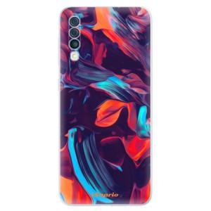 Silikonové odolné pouzdro iSaprio - Color Marble 19 na mobil Samsung Galaxy A50