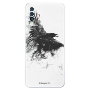 Silikonové odolné pouzdro iSaprio - Dark Bird 01 na mobil Samsung Galaxy A50