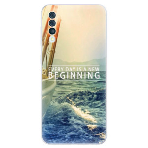 Silikonové odolné pouzdro iSaprio - Beginning na mobil Samsung Galaxy A50