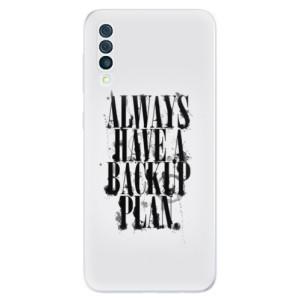Silikonové odolné pouzdro iSaprio - Backup Plan na mobil Samsung Galaxy A50