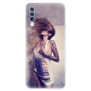 Silikonové odolné pouzdro iSaprio - Girl 01 na mobil Samsung Galaxy A50