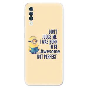 Silikonové odolné pouzdro iSaprio - Be Awesome na mobil Samsung Galaxy A50