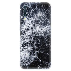 Silikonové odolné pouzdro iSaprio - Cracked na mobil Samsung Galaxy A50