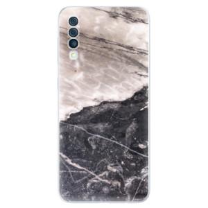 Silikonové odolné pouzdro iSaprio - BW Marble na mobil Samsung Galaxy A50