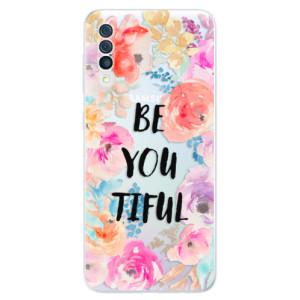 Silikonové odolné pouzdro iSaprio - BeYouTiful na mobil Samsung Galaxy A50