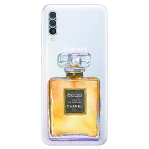 Silikonové odolné pouzdro iSaprio - Chanel Gold na mobil Samsung Galaxy A50
