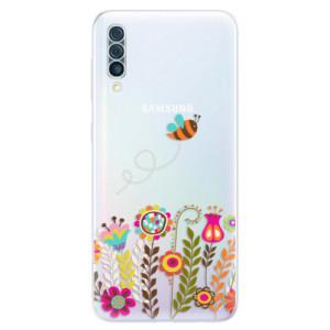 Silikonové odolné pouzdro iSaprio - Bee 01 na mobil Samsung Galaxy A50