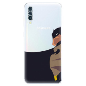 Silikonové odolné pouzdro iSaprio - BaT Comics na mobil Samsung Galaxy A50