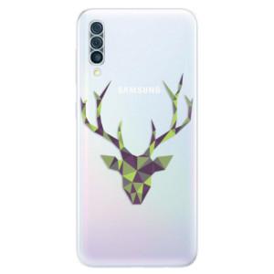 Silikonové odolné pouzdro iSaprio - Deer Green na mobil Samsung Galaxy A50