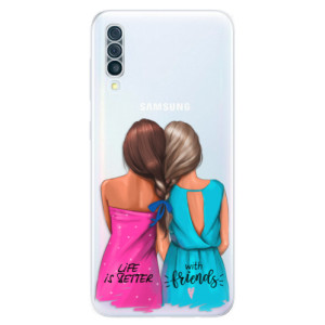 Silikonové odolné pouzdro iSaprio - Best Friends na mobil Samsung Galaxy A50