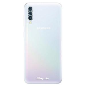 Silikonové odolné pouzdro iSaprio - 4Pure - čiré bez potisku na mobil Samsung Galaxy A50
