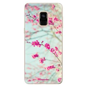 Silikonové odolné pouzdro iSaprio - Blossom 01 na mobil Samsung Galaxy A8 2018