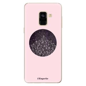 Silikonové odolné pouzdro iSaprio - Digital Mountains 10 na mobil Samsung Galaxy A8 2018