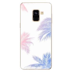 Silikonové odolné pouzdro iSaprio - Digital Palms 10 na mobil Samsung Galaxy A8 2018