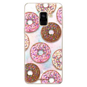 Silikonové odolné pouzdro iSaprio - Donuts 11 na mobil Samsung Galaxy A8 2018