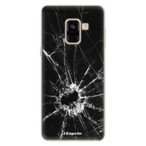 Silikonové odolné pouzdro iSaprio - Broken Glass 10 na mobil Samsung Galaxy A8 2018
