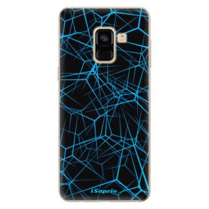 Silikonové odolné pouzdro iSaprio - Abstract Outlines 12 na mobil Samsung Galaxy A8 2018