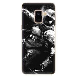 Silikonové odolné pouzdro iSaprio - Astronaut 02 na mobil Samsung Galaxy A8 2018