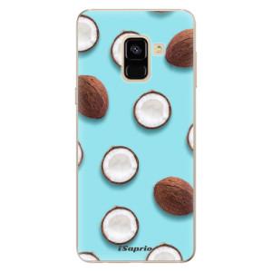Silikonové odolné pouzdro iSaprio - Coconut 01 na mobil Samsung Galaxy A8 2018