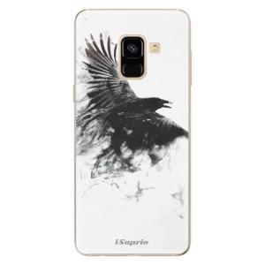 Silikonové odolné pouzdro iSaprio - Dark Bird 01 na mobil Samsung Galaxy A8 2018
