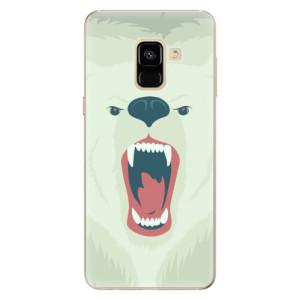 Silikonové odolné pouzdro iSaprio - Angry Bear na mobil Samsung Galaxy A8 2018