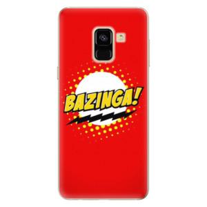 Silikonové odolné pouzdro iSaprio - Bazinga 01 na mobil Samsung Galaxy A8 2018