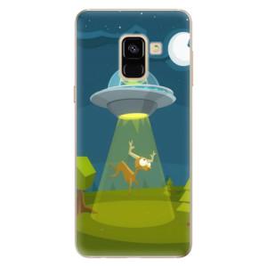 Silikonové odolné pouzdro iSaprio - Alien 01 na mobil Samsung Galaxy A8 2018