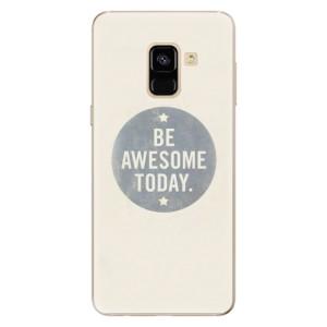 Silikonové odolné pouzdro iSaprio - Awesome 02 na mobil Samsung Galaxy A8 2018