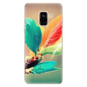 Silikonové odolné pouzdro iSaprio - Autumn 02 na mobil Samsung Galaxy A8 2018
