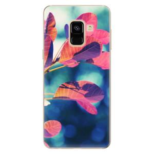 Silikonové odolné pouzdro iSaprio - Autumn 01 na mobil Samsung Galaxy A8 2018