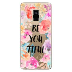 Silikonové odolné pouzdro iSaprio - BeYouTiful na mobil Samsung Galaxy A8 2018