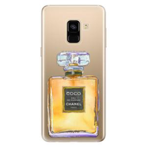 Silikonové odolné pouzdro iSaprio - Chanel Gold na mobil Samsung Galaxy A8 2018