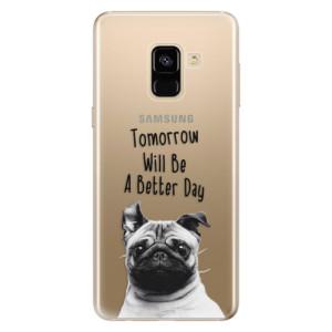Silikonové odolné pouzdro iSaprio - Better Day 01 na mobil Samsung Galaxy A8 2018